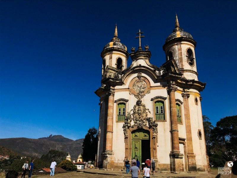 O que fazer em Ouro Preto (MG): melhores atrações - Ig. São Francisco de Assis
