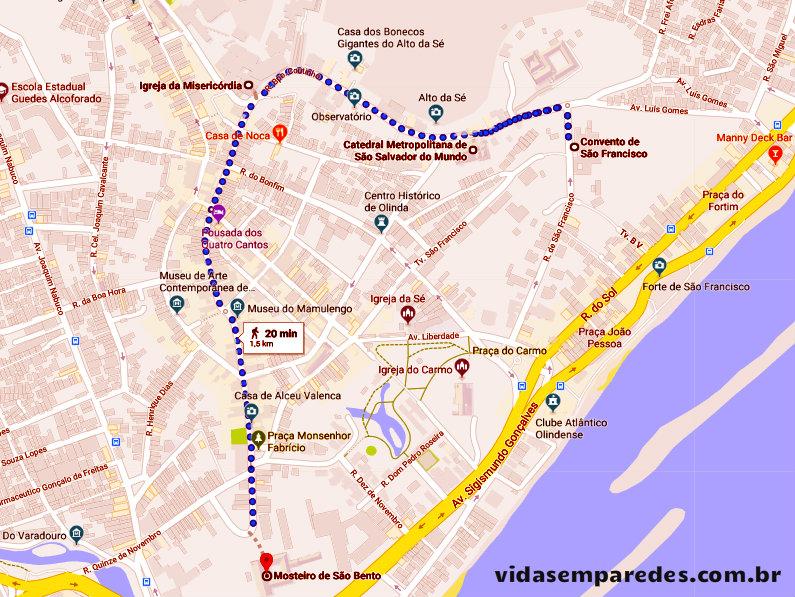 Melhores atrações para visitar em Recife: Olinda