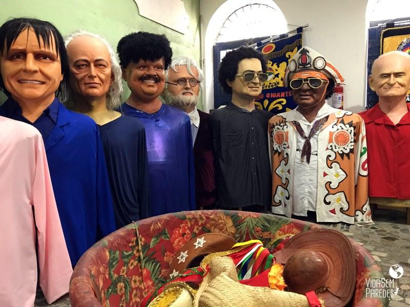 Melhores atrações para visitar em Recife: Embaixada dos Bonecos Gigantes