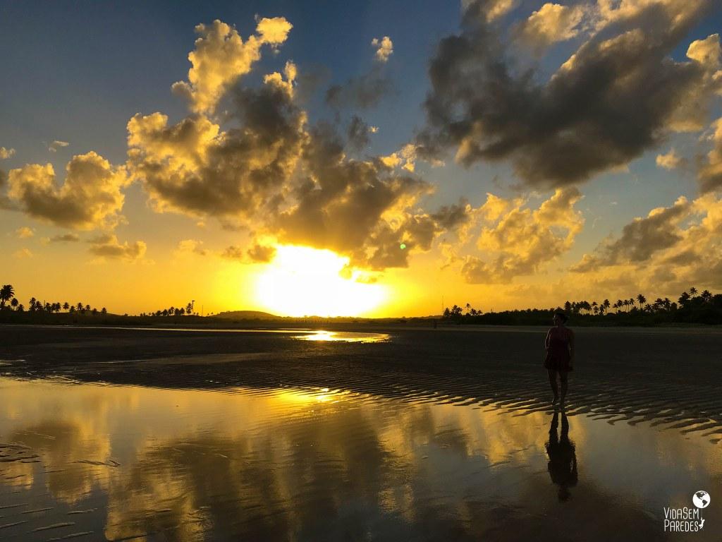 Praias de Porto de Galinhas: (PE): Pontal de Maracaípe