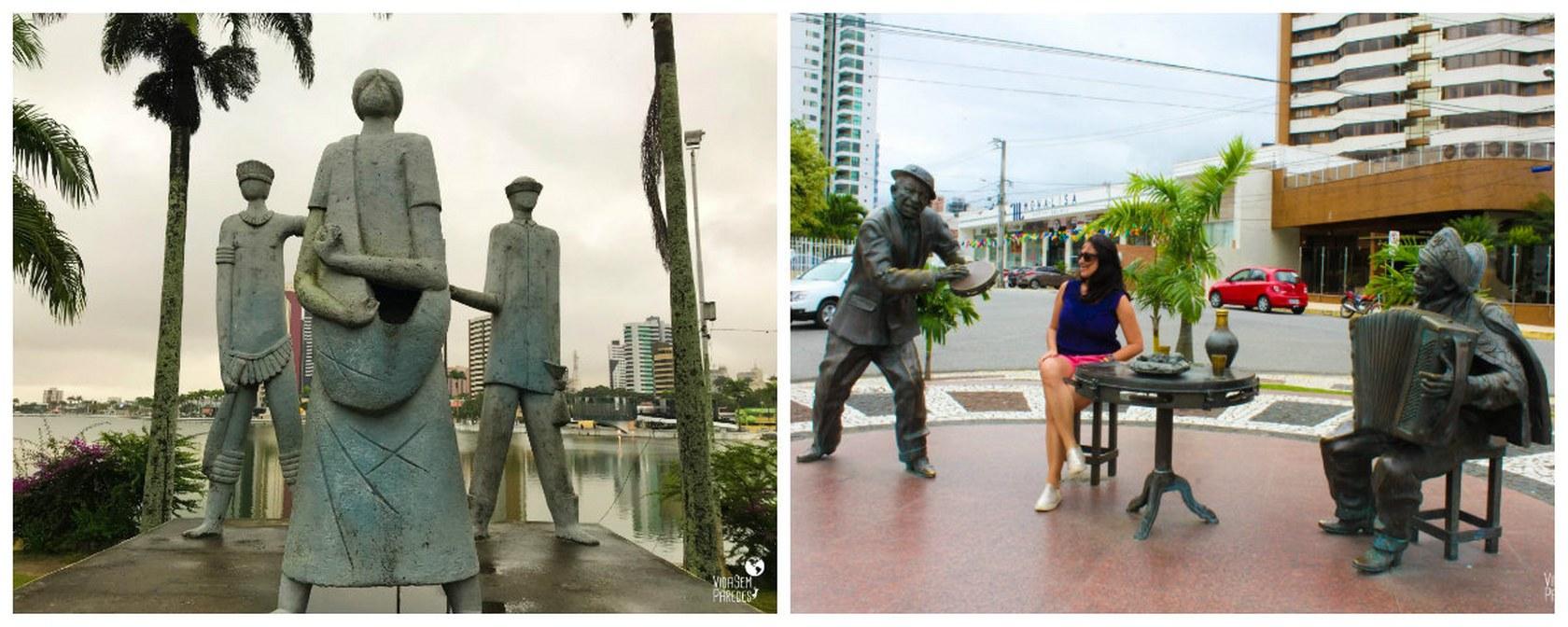 Dicas do que visitar em Campina Grande, na Paraíba: Monumentos no Açude Velho
