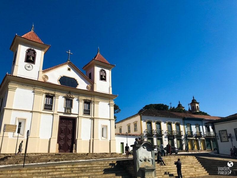 Catedral da Sé em Mariana