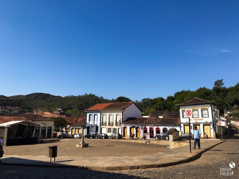 Praça da Sé em Mariana