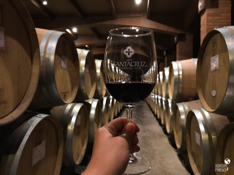 vinícolas no Vale do Colchagua, no Chile: Viña Santa Cruz