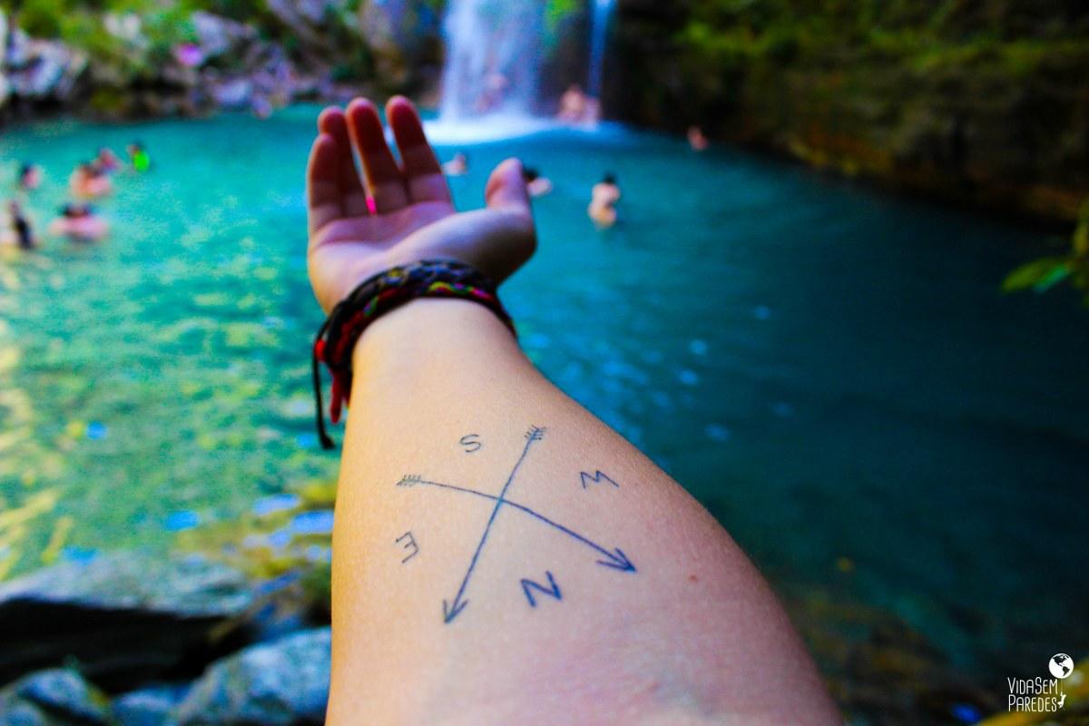Chapada dos Veadeiros: como chegar na cachoeira Santa Bárbara