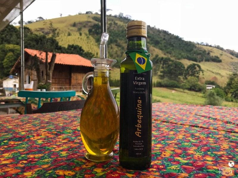 Fazenda Maria da Fé: azeites
