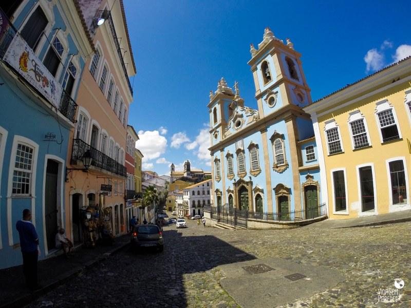 Região para se hospedar em Salvador Pelourinho