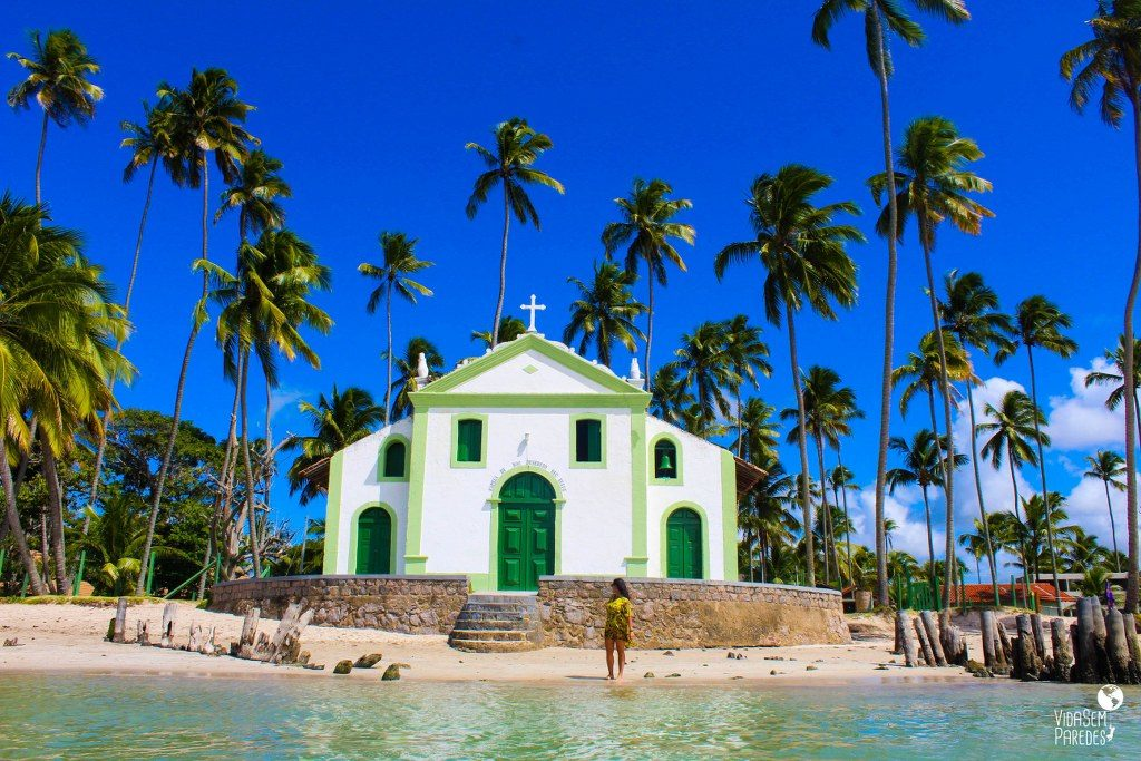 Capela de São Benedito, Praia dos Carneiros  Pernambuco
