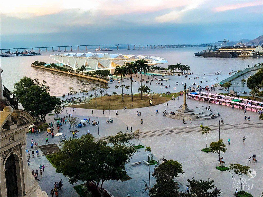 Boulevard Olimpico Museu do Amanha