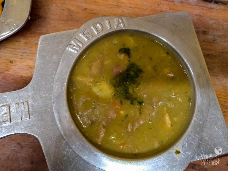 Pratos típicos da Colômbia: mazamorra chiquita