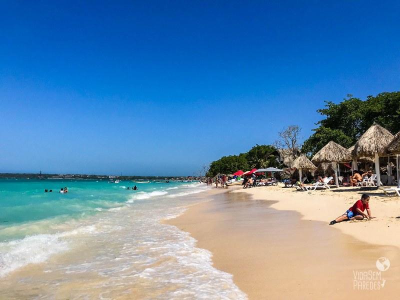 Isla Baru e Playa Blanca