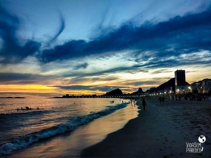 Praias do Rio de Janeiro: Copacabana