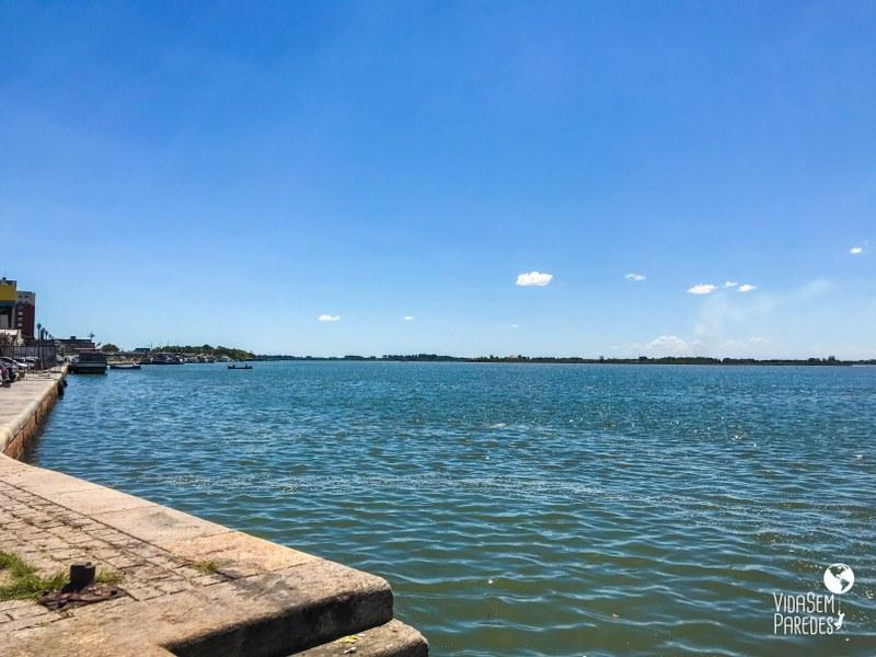 Lagoa dos Patos em Rio Grande RS
