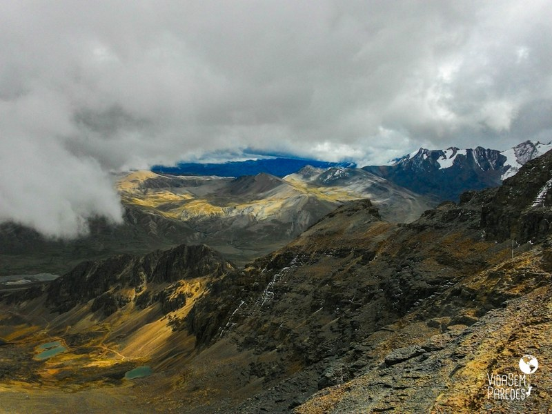 Montanha Chacaltaya em La Paz