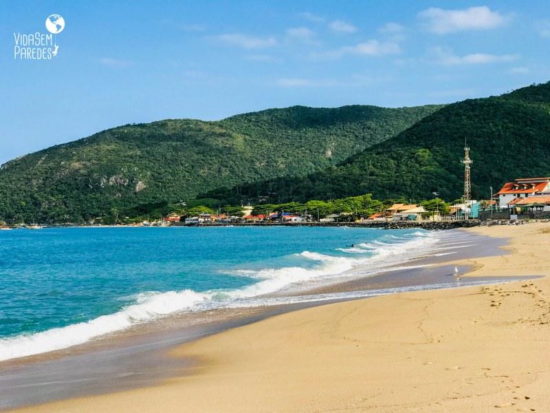 praia da armacao florianopolis